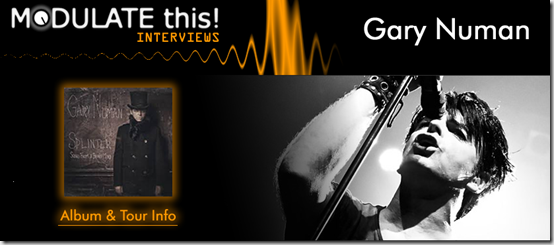 I Interviewed Gary Numan for Modulate This!