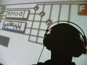 Sound sources are 100% Original Blofeld Presets (Blofeld Screen projected on wall behind me)