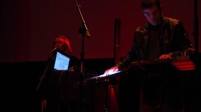 Lizey & Mark Mosher. Photo by Tom Murphy