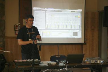Artist talk at Electro-Music NY