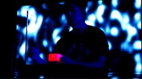 """In this shot, I'm playing the song """"Before We Wake"""" using Theremin and AudioCube giving me 6 dimensions of spatial control. This is not instragramed or photoshopped btw. It was a frame from video shot by Jeremy D"""