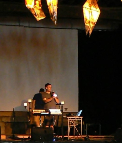 Artist talk on AudioCubes at Midwest Electro-Music Experience