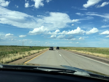 Driving out from Colorado