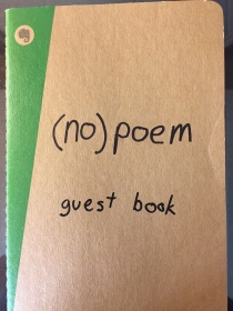 The (no)poem guest book