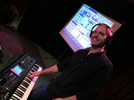 Jim Stout presenting on Roland V-Synth