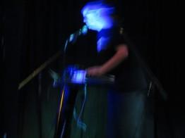 Mark Mosher performing at meetup