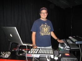 Rod Tanaka performing at meetup