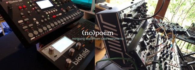 Mark & Darwin's (no)poem synth rigs