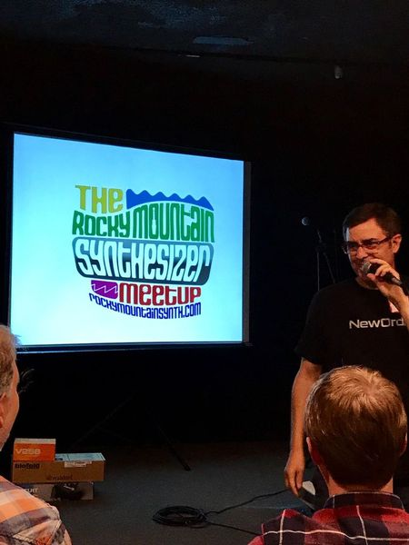 Hosting Rocky Mountain Synthesizer Meetup