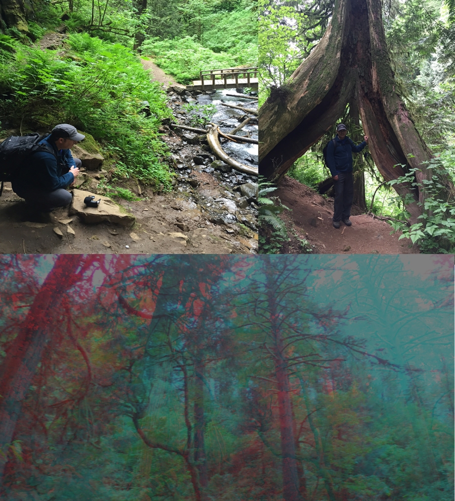 Mark Mosher - Field recording trip in Oregon with Synthesized result