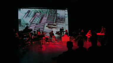 Atlas Institute Black Box performance as a special guest of the Boulder Laptop Orchestra