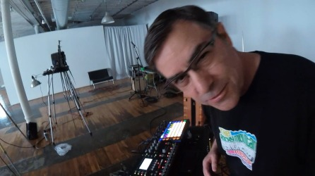 Mark Mosher live sampling on Octatrack and Sampling and Synthesis on Novation Circuit