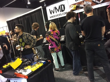 My Denver friends WMD Devices are all techno all the time in their booth.