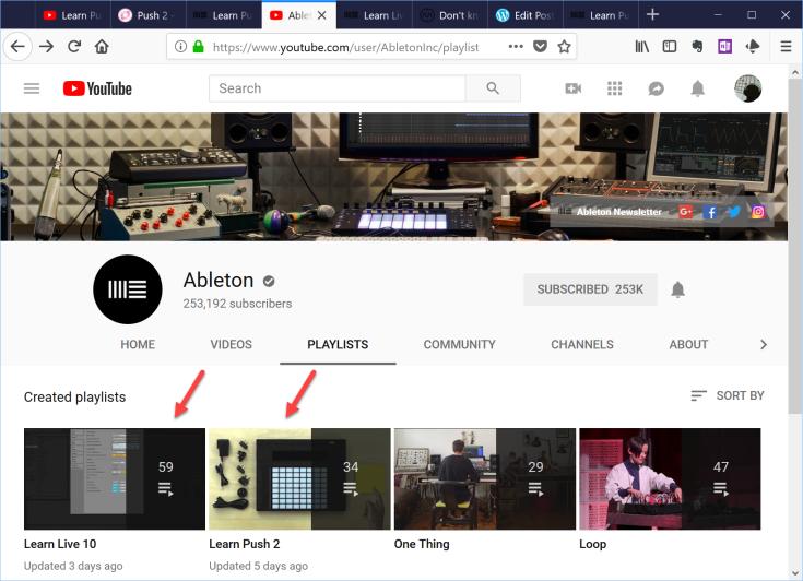 ableton-learn