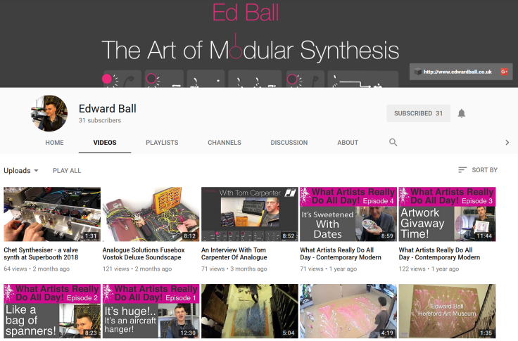 ed ball youtube